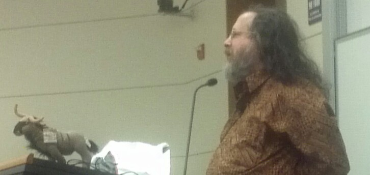 Richard Stallman and the gnu that could have been mine