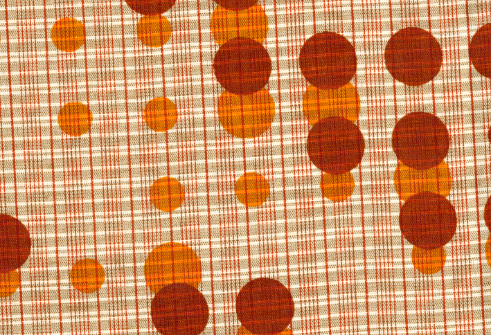 Binary in textile from Christian Swinehart's Pattern Recognition
