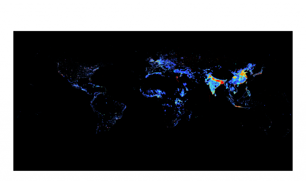 Population Density Worldwide
