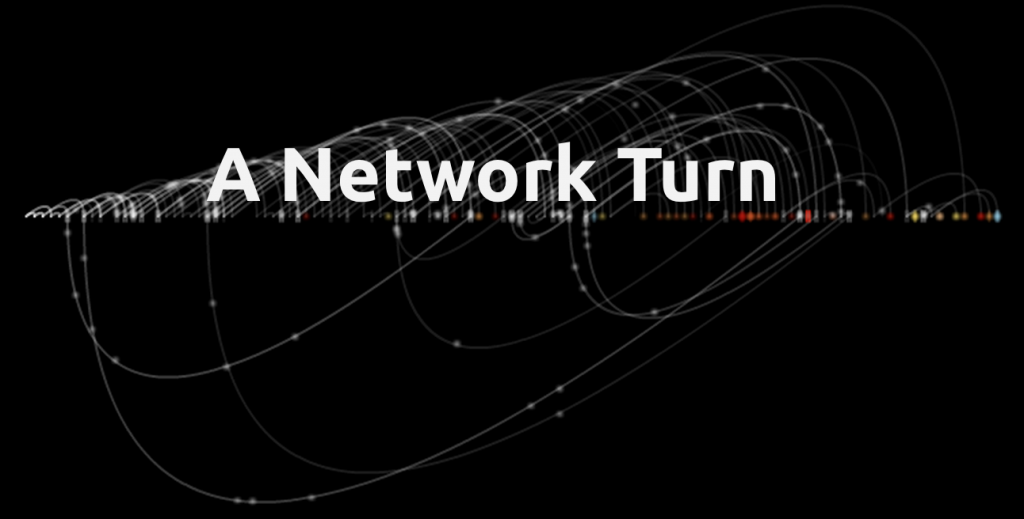 "A network turn -- Background graph from Christian Swinehart's ""Pattern Recognition"""